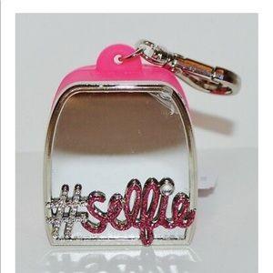 Brand new never used Selfie hand sanitizer holder
